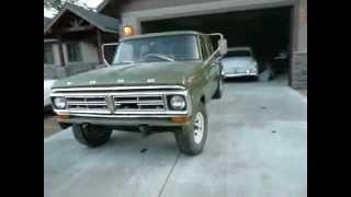 1971 Ford F-350 Crewcab 2WD Shortbox