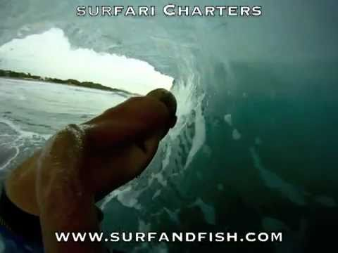 Inside Nicaragua Tubes with Surfari Charters
