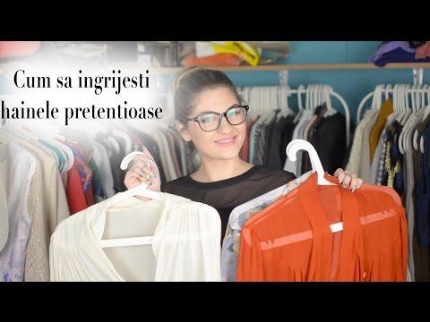 Cum sa va ingrijiti hainele din materiale pretentioase