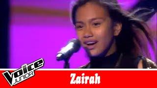 Zairah synger: Zara Larsson – 'Lush life' – Voice Junior / Kvartfinale