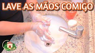 #FiqueEmCasa e Lave As Mãos #Comigo