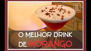 O Melhor Drink de Morango