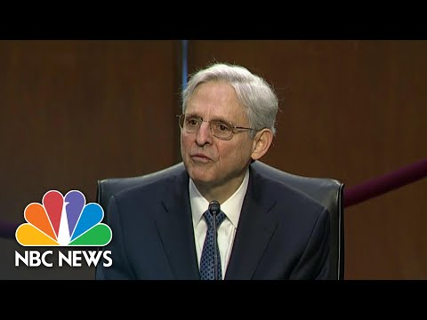 Merrick Garland's Attorney General Confirmation Hearings Begin | NBC Nightly News