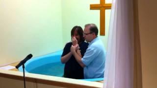 Kim Schrey's Baptism