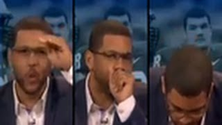 ESPN's Michael Smith Curses While On Air And Plays It Off!