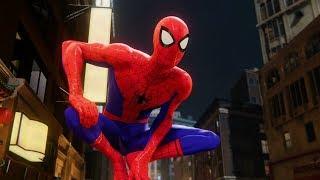 Spider-Man Chases Shocker (Into the Spider-Verse Suit Gameplay) - Marvel's Spider-Man