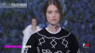 CHRISTIAN DIOR Spring 2016 Highlights Paris by Fashion Channel
