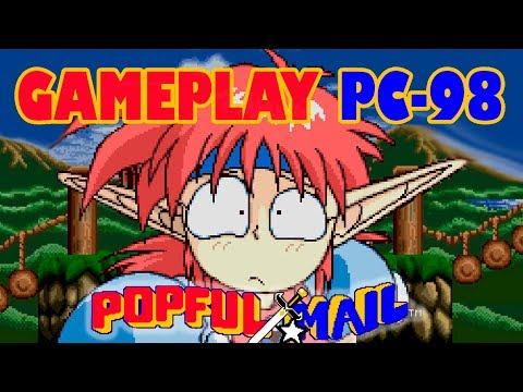 Gameplay juego popful Mail pc-98