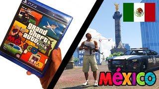 GTA 5 MEXICO 🇲🇽 | Oxxo, Pemex, Policia Federal (Angel De Independencia) width=