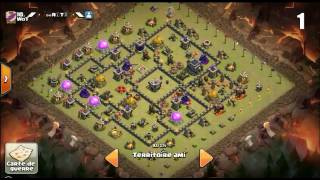 TOP 20 TH9 Anti 3 Stars WAR BASES / CLASH OF CLANS
