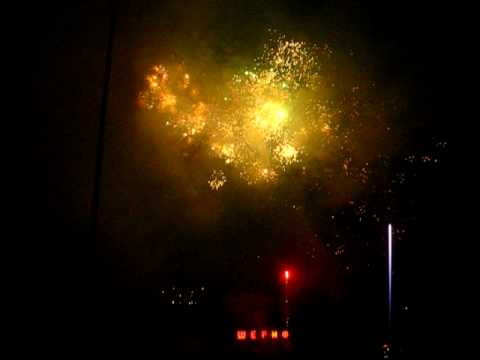 Fireworks show in Dnipropetrovsk (Part 2)