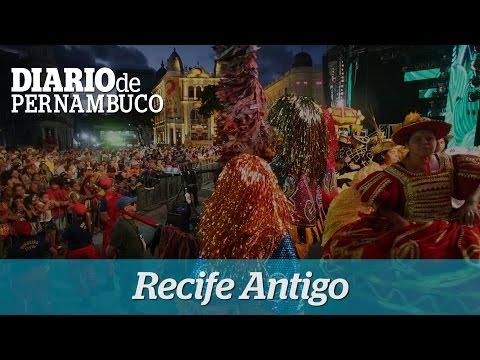Folia no Recife Antigo neste domingo de carnaval
