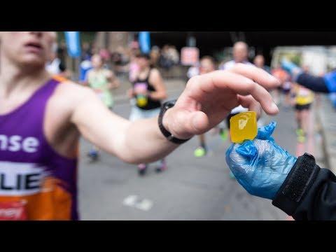 London Marathon swaps plastic bottles for edible Ooho drinks capsules