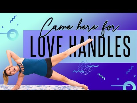 Came Here for LOVE...HANDLES! Toughest Muffintop Workout EVER!
