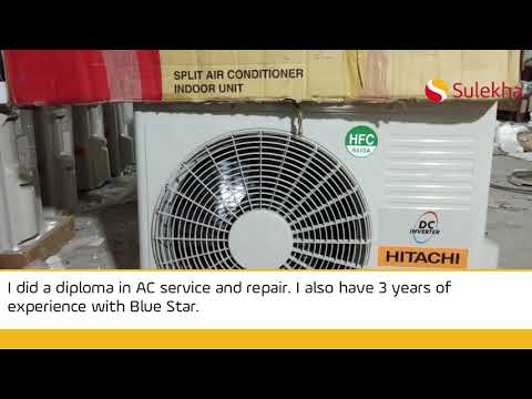 Hitachi AC Installation Services, Install Split & Window AC