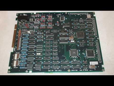 In The Hunt 海底大戦争Pcb Arcade Original M92 Irem Corp.