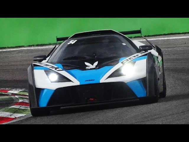 Reiter Engineering' KTM X-Bow GT4 In Action On Track
