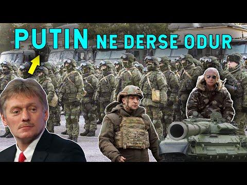PUTIN NE DERSE ODUR Dedi! Rusya Askerini Çekmiyor!