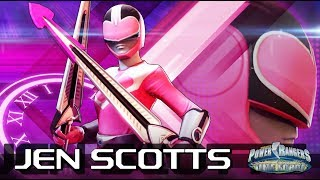 Power Rangers: Legacy Wars (Power Rangers Time Force) Jen Scotts (Moveset)