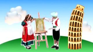Crianças Volta ao Mundo - Itália - Patati Patatá (DVD Volta ao Mundo)