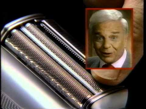 Remington Micro Screen Commercial (Victor Kiam) (1989)