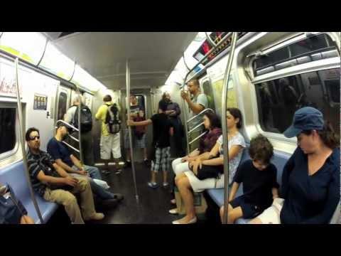 A Beautiful NYC Subway Moment