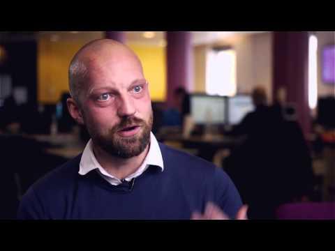Martin Deinoff, vice VD på digitalbyrån Creuna, om event
