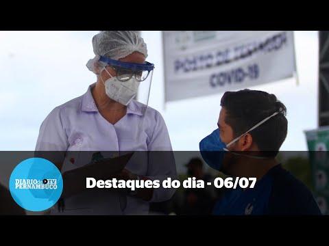 Notícias de 06/07 - Covid-19 deve matar mais no interior, prefeito investigado e festa restrita