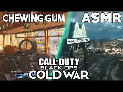 ASMR GAMING   Call Of Duty: ColdWar   We Make This Interesting ~ ASMR Music & Chewing Gum