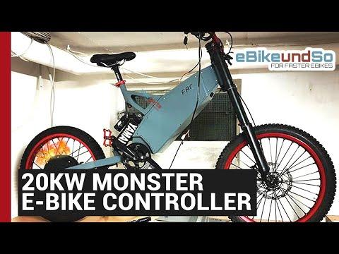 Neuer 20Kw Monster E-Bike Controller für ein neues Teleport Prime
