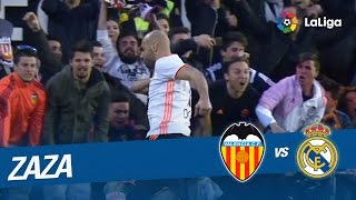 Golazo de Zaza (1-0) Valencia CF vs Real Madrid