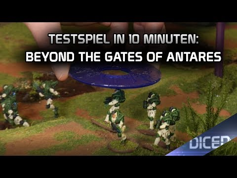 Testspiel in 10 Minuten | Beyond the Gates of Antares | Battle Report | DICED