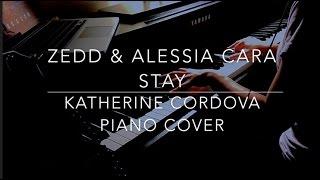 Zedd, Alessia Cara - Stay (HQ piano cover)