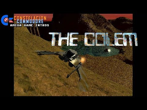 Amiga Game Intro: The Golem (Underground Software, 1997/Unreleased)