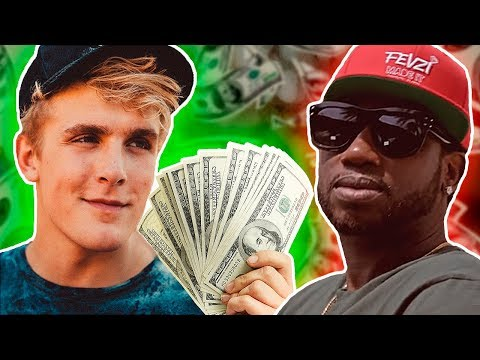 Jake Paul pays Gucci Mane $250K for a verse