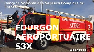 Congrès National des Sapeurs Pompiers 2015: Fourgon Aéroportuaire MAN S3X #1