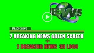 BREAKING NEWS GREEN SCREEN 2017