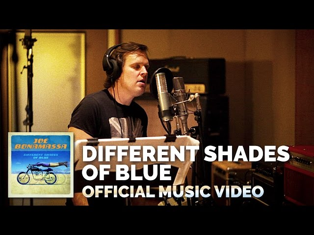 Video oficial de Joe Bonamassa Differente Shades of Blues