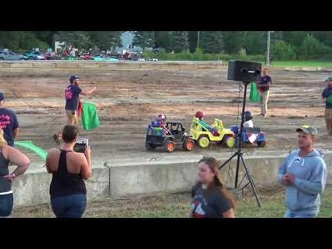 Michigan Bean Festival 2018 Powerwheels race 1 (Fairgrove, Michigan)