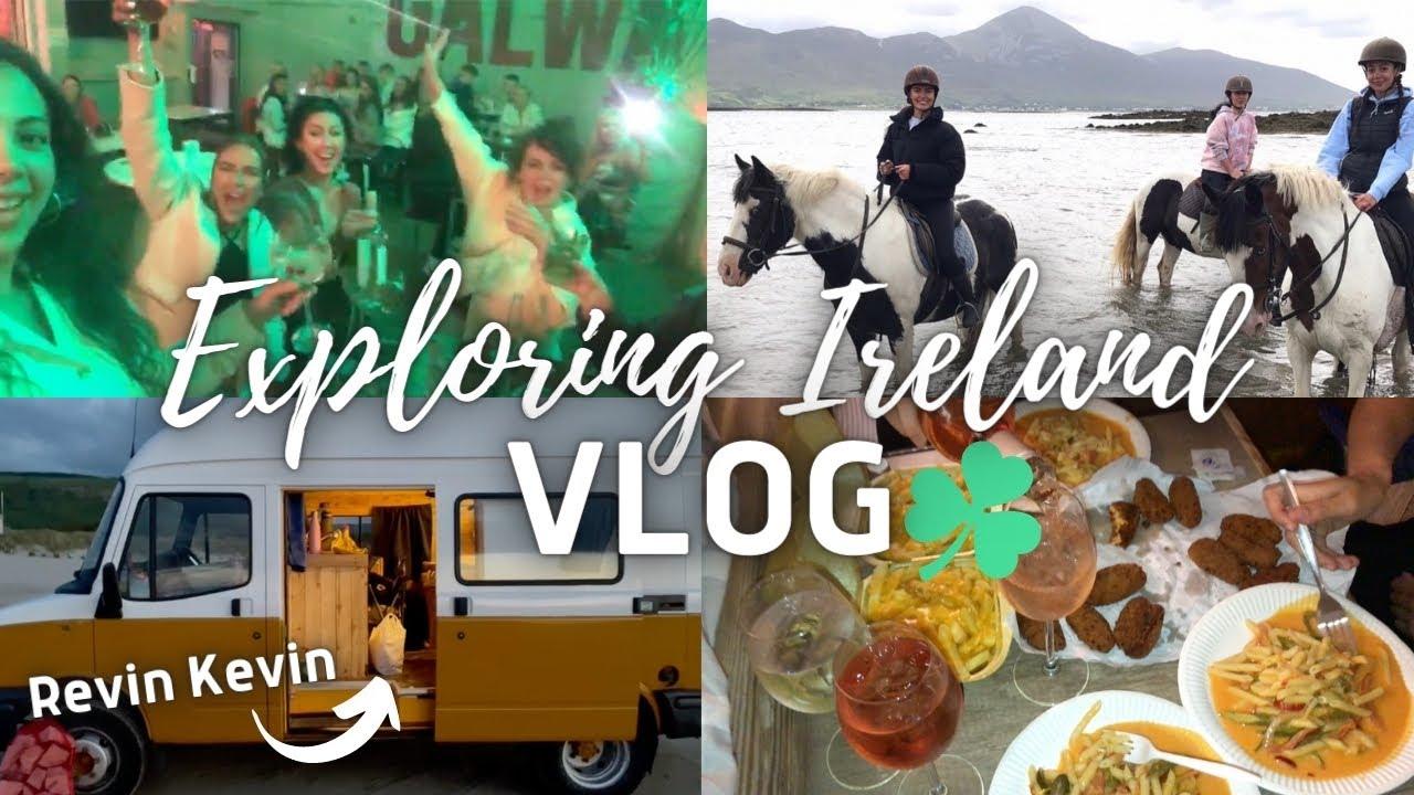 Exploring Ireland VLOG w/my Bestfriends! (Wild Atlantic Way Route, Galway, Westport) 🇮🇪