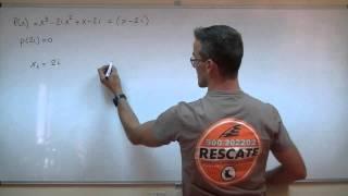 Imagen en miniatura para Factorizacion de polinomios 05