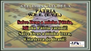 634   Oração Pela Pátria Karaoke/playback