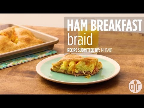 How to Make Ham Breakfast Braid | Breakfast & Brunch Recipes | Allrecipes.com