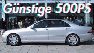 Die 5 billigsten Autos mit 500PS!!!