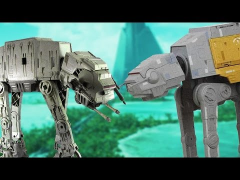 Star Wars AT-AT Toys Have Changed a Lot in 20 Years - Up At Noon Live!