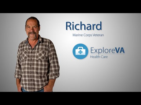 When a blood clot threatened Richard's life, VA gave him a new heart.