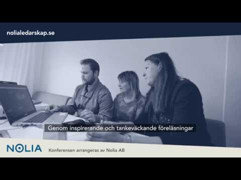Program Nolia Ledarskap Skellefteå 24 oktober