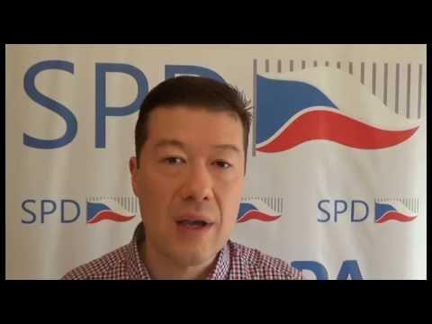 Tomio Okamura: Evropská unie opět vyhrožuje