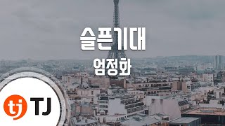 [TJ노래방] 슬픈기대 - 엄정화 / TJ Karaoke