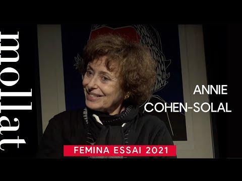 Vidéo de Annie Cohen-Solal